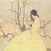 Amy: yellow dress