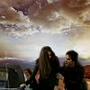 a crazy wonderful idea.: Delena; Skies Between Us