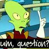 a panda? PETER the panda!: futurama: kif has a question