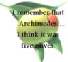 Archimedes, Thief, Olives, Megan Whalen Turner