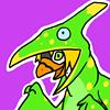Pterodactyl Dinosaur Star