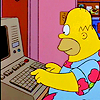 Why all the pearls?Why all the hair?Why anything?: Simpsons - King Size Homer