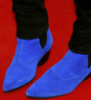blue crocodile shoes