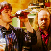 That's a French-ass name, Nicolette!: Black Books - boozin'