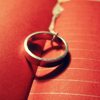 an: silver ring