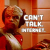Can't Talk Internet