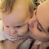 Me & Asher -- Mwahs! Baby love! <3