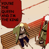The old queen and king