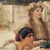 Alma-Tadema Sappho