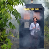 11 and his tardis by meathiel