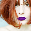 РЫЖАЯ и фиолетовые губы