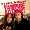 too much going on omg: aidan/lenora - VAMPIRE ACTION!