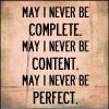 May I Never