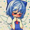 ♕ reaper's got your name: CIRNO⇒ ❝shy❞