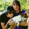 Jalex and Cute Dog