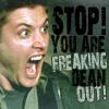haruechan: Dean - Freaking out