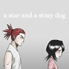 manonlechat: rukia and renji: star and a stray dog