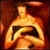 analogia avis: дама с кошкой