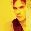 Damon Salvatore: study in yellow