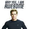 Her Hamsterness: Star Trek -- Kirk is awesome