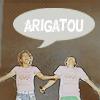 a // arigatou