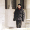 i need a raincoat.: Merlin - Colin lost in puffy jacket
