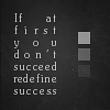 quote: redefine success