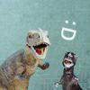 happy dinosaurs are happy
