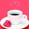pinkfairy727: Coffee - Pink Heart