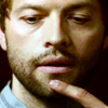 Mish: Castiel -- Finger! Lips! Scruff! Debauch