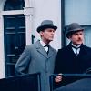 Charlotte: Sherlock Holmes - Granada - Arm in arm