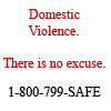 Angie: DV: There is no excuse