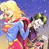 Go straight to hell boys: Supergirl-> With Joker