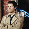 spn ; cas ; nerdy angel