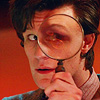 Beth: Dr. Who: 11th Doc plus magnifying glass