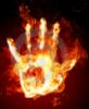 mangacat201: burning hand
