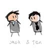 [doctor] cartoon jack/ten, Doctor : Jack/Ten cartoon