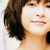 Ueno Juri with a quirky smile