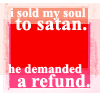 I Sold My Soul